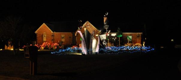 Tullahoma, TN Halloween Pirate Ship Decoration